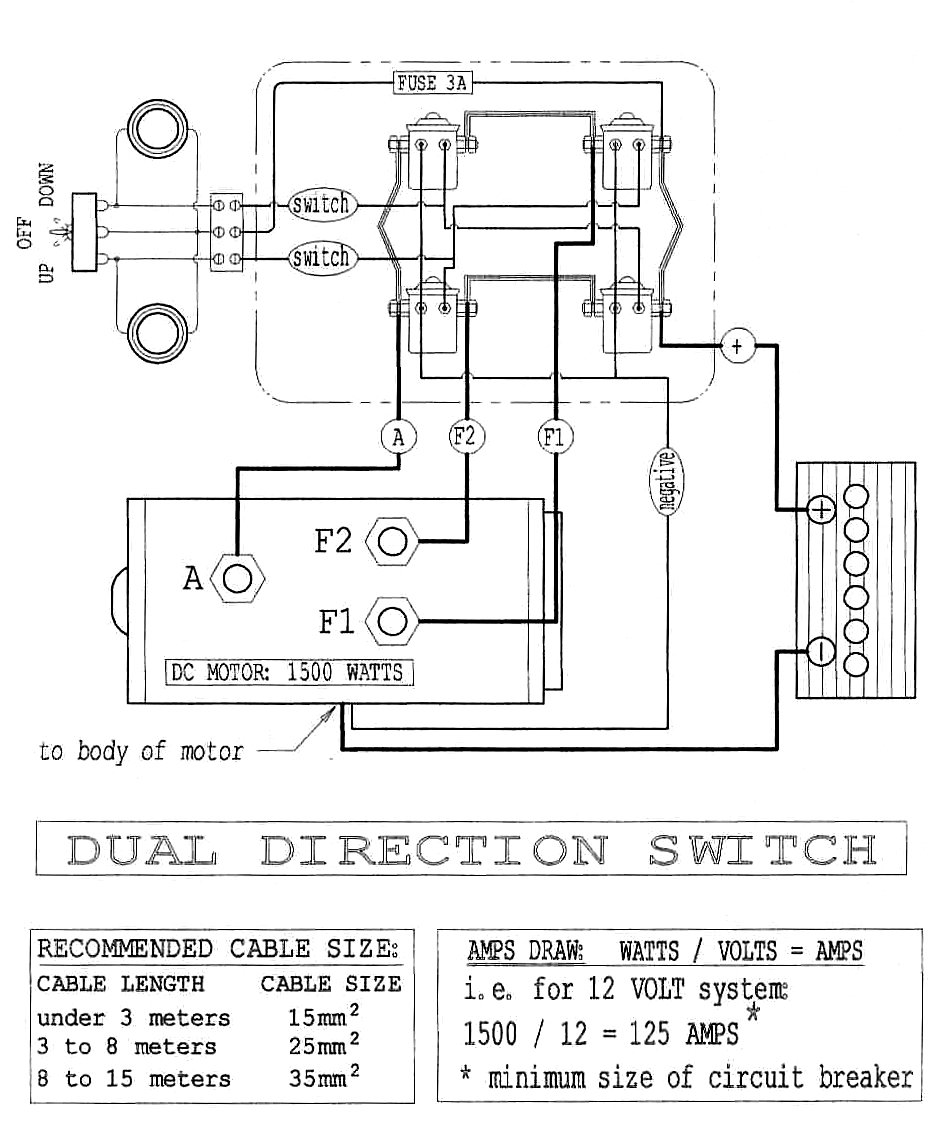 Electric Winch Wiring Diagram Free For You Dayton Contactor Get Image About Warn 9000 Chicago Strongarm